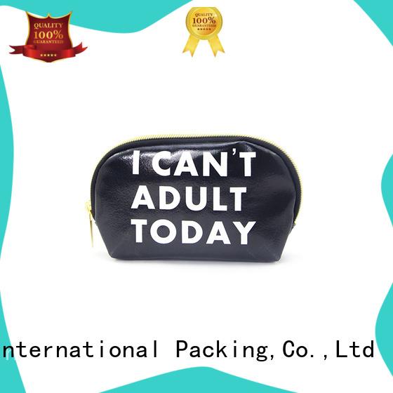 Yonghuajie obm leather vanity bag printed