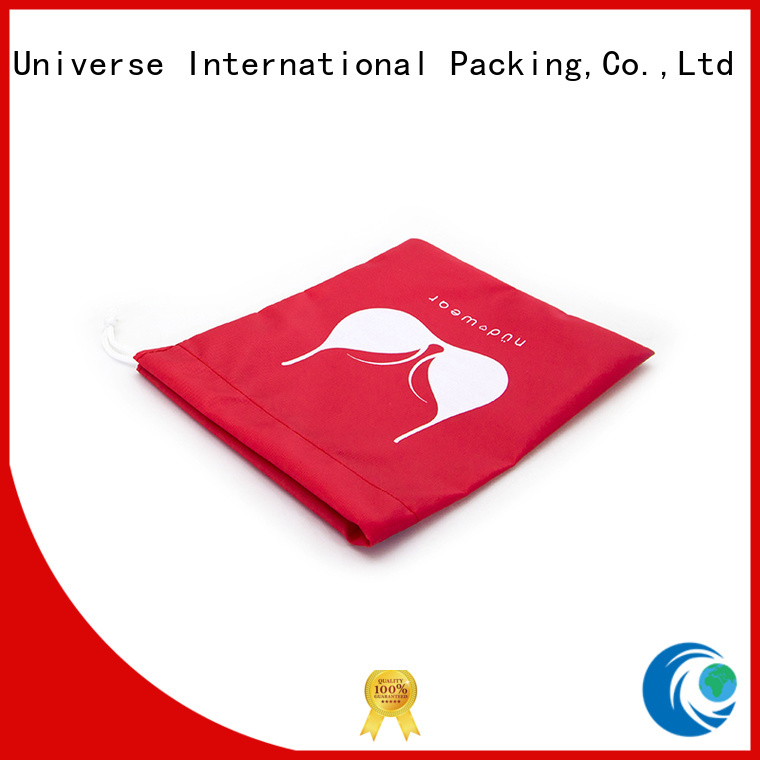 Yonghuajie drawstring mesh zipper bag with handle for cosmetics