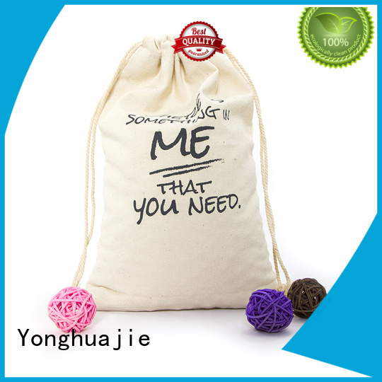 Yonghuajie blank canvas tote bags wholesale cotton for shopping
