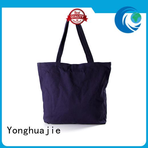 Yonghuajie blank small canvas bags pvc for travel