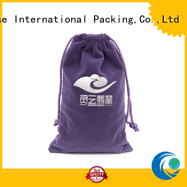 Yonghuajie printed logo leather sling bag manufacturers for jewelry store