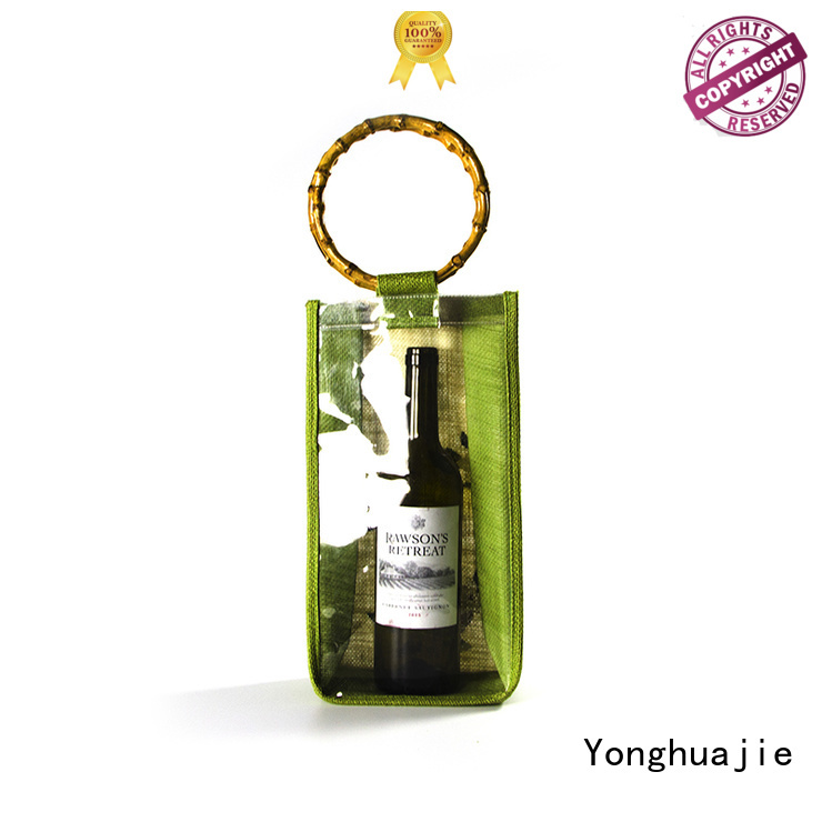 drawstring bamboo burlap quality jute sack                                                                                                                                                                                               jute shopping bag Yong