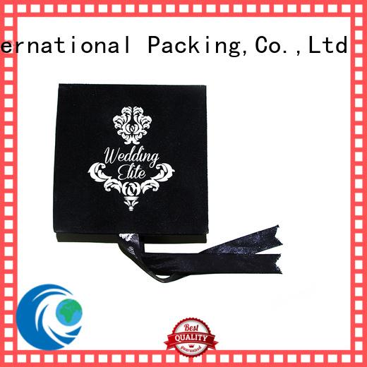 luxury gift custom the velvet box Yonghuajie