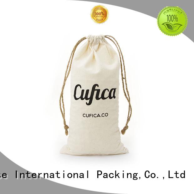 Yonghuajie Brand drawstring storage cotton carry bags jewelry