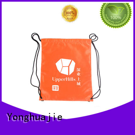 silk nylon vs polyester backpack with handle for cosmetics Yonghuajie