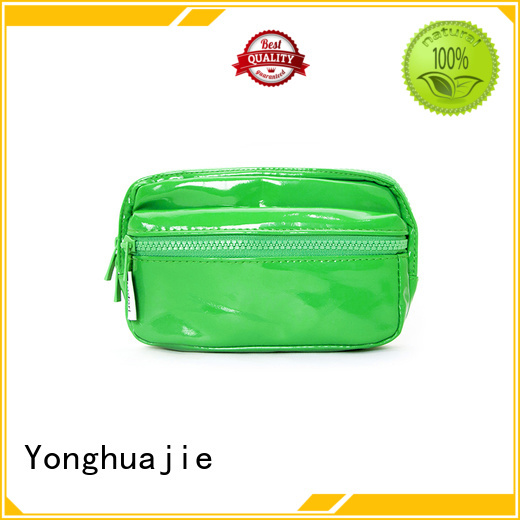 Yonghuajie custom leather makeup pouch fast delivery for wedding rings
