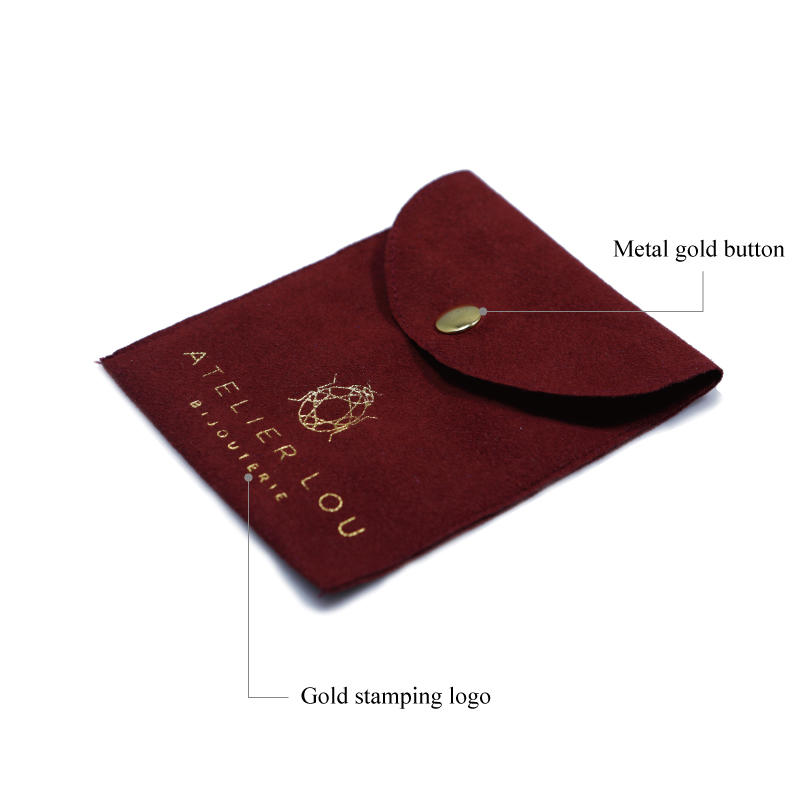 customized red suede bag top-selling for friends Yonghuajie-2
