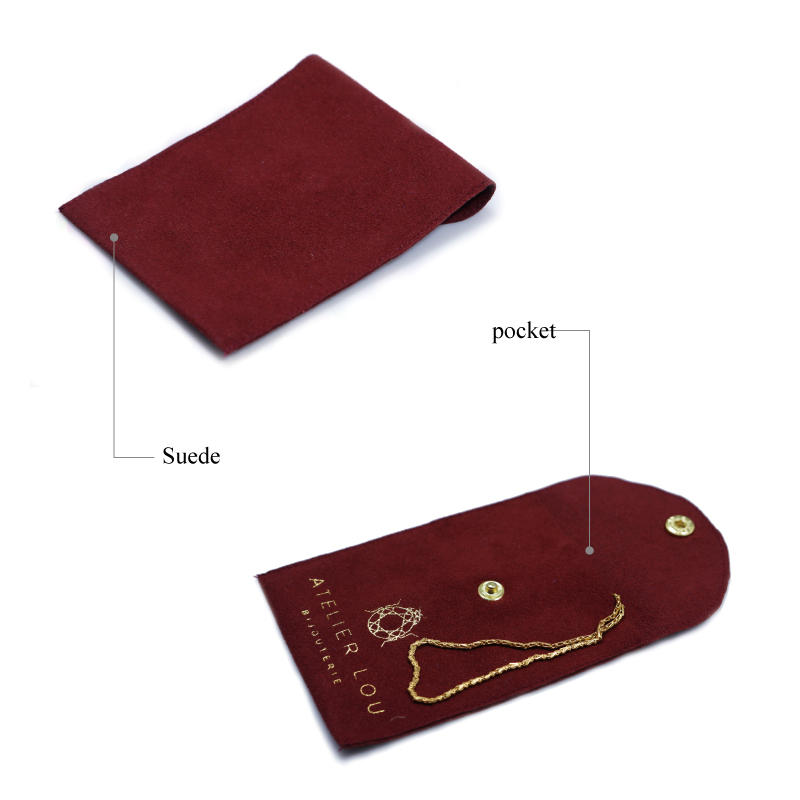 customized red suede bag top-selling for friends Yonghuajie-3