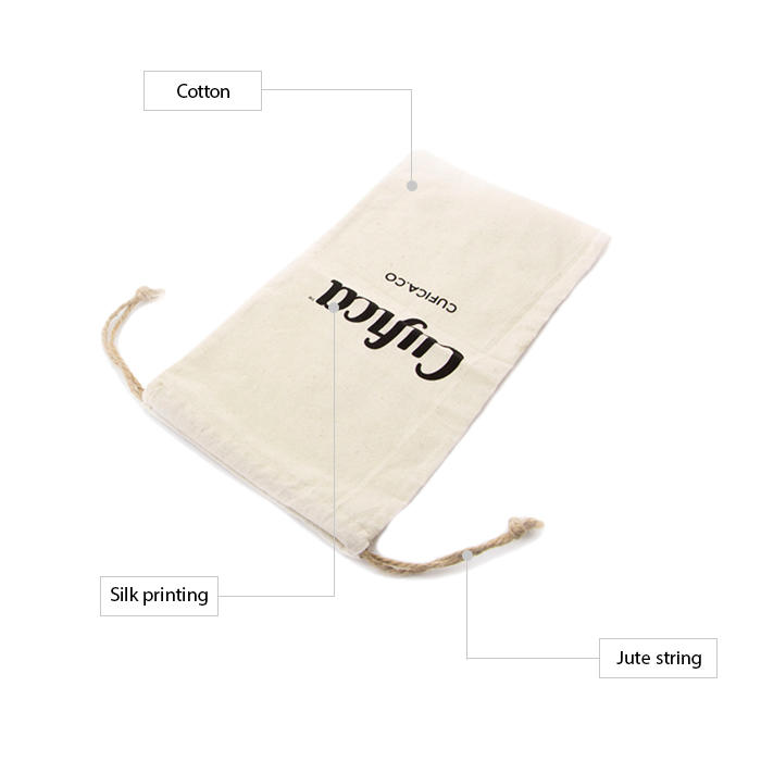 cotton shopping bags with zipper for packaging-2
