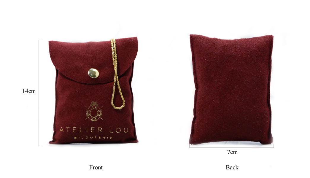 customized red suede bag top-selling for friends Yonghuajie-1
