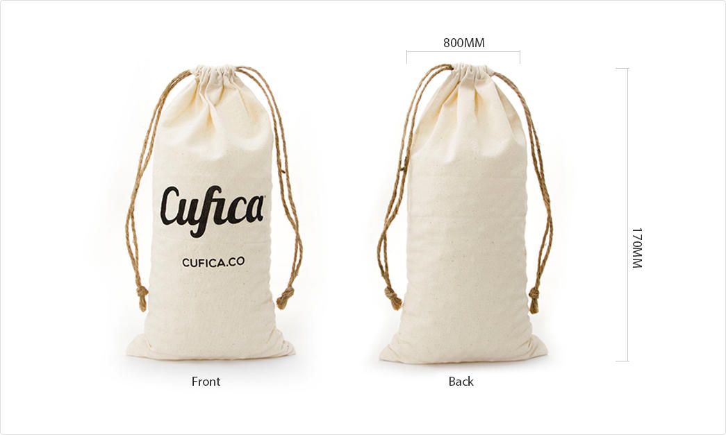 cotton shopping bags with zipper for packaging-1