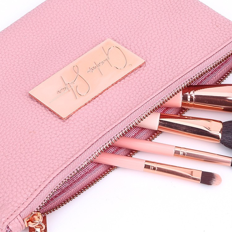 Yonghuajie oem leather makeup bag for gift