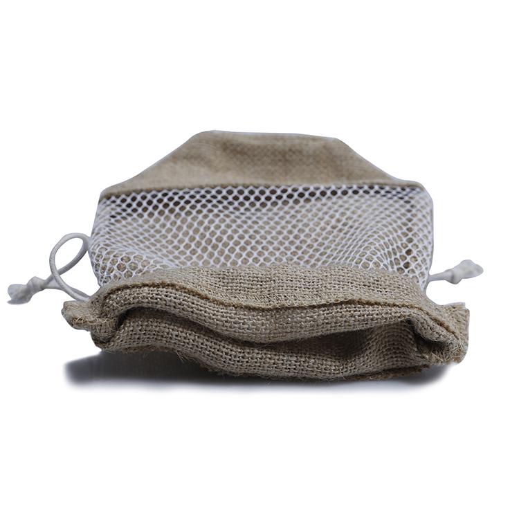 Yonghuajie bamboo handle jute tote bag free sample for storage-4