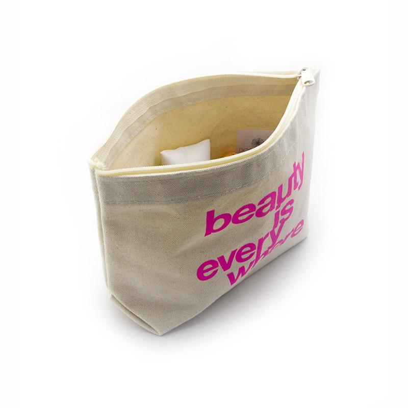 Yonghuajie Custom striped canvas tote bag window for makeup-4