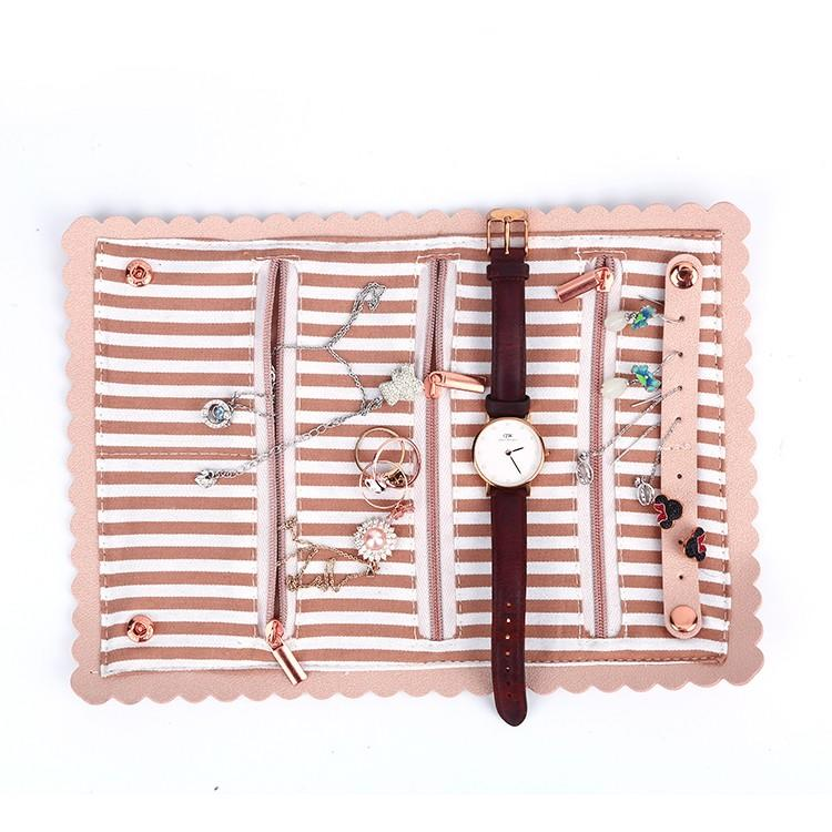 Top female leather bag printed for wedding rings-3