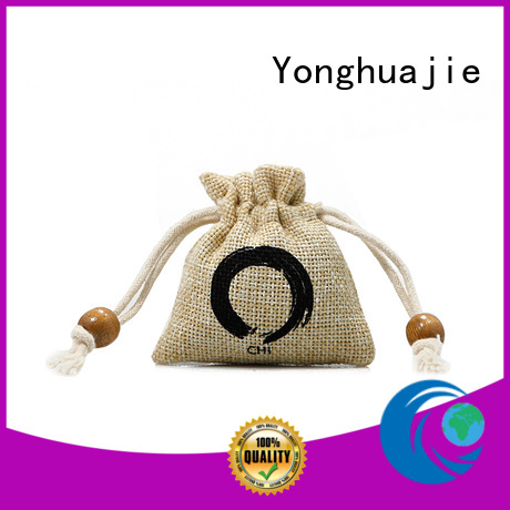 small pouch jute sack jute shopping bag high quality for packing Yonghuajie