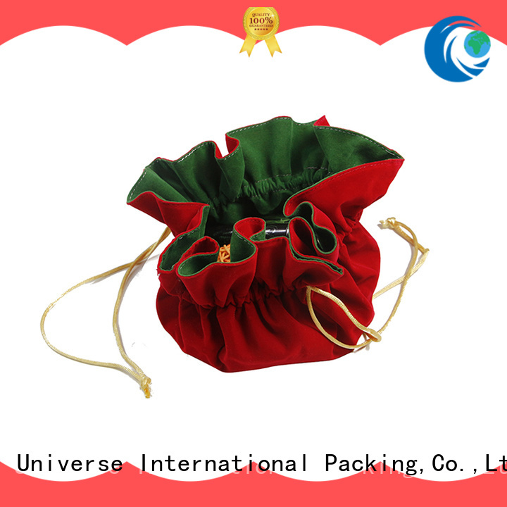 Yonghuajie purple velvet pouch for wholesale for jewelry store
