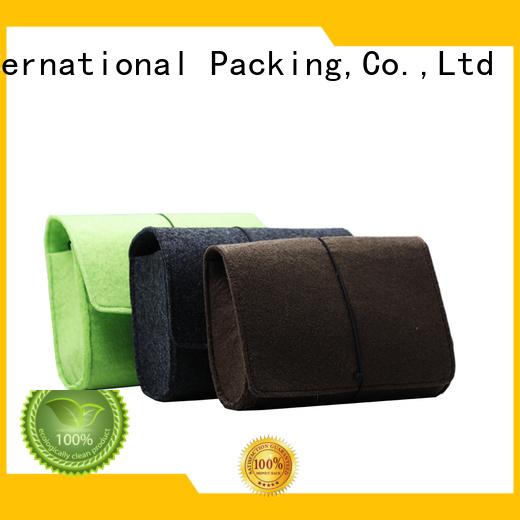 Yonghuajie felt tote bag flap for goods