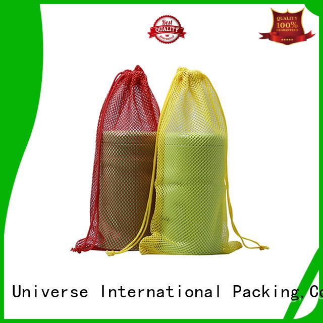 Custom scuba mesh bag drawstring Supply for packaging