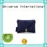 Envelope Linen Comb Pouch with Button Close