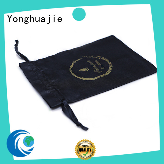 digital satin bags soft with power bank for cosmetics