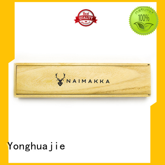 Yonghuajie pen lid wooden box online for wholesale for display