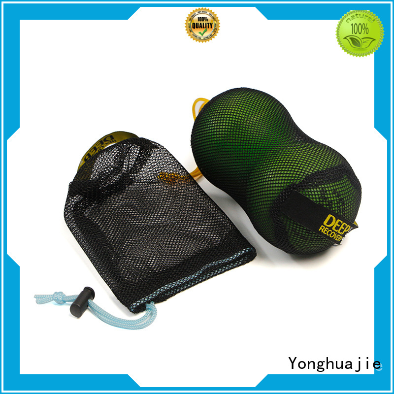 cheapest poly mesh net bags black company for jewelry