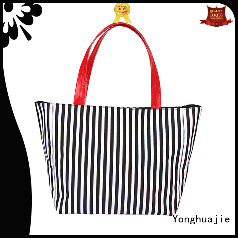 Wholesale recycled tote bags logo printed for makeup