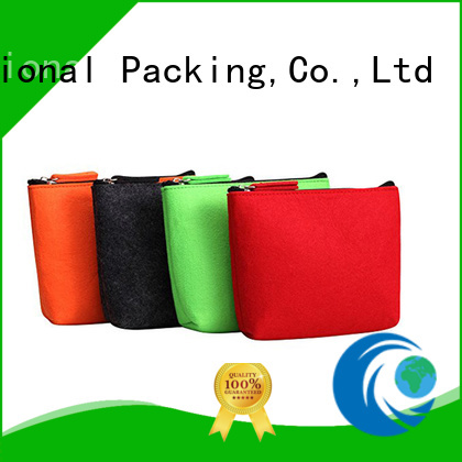 cheapest price felt products embroidered Supply for gift packing