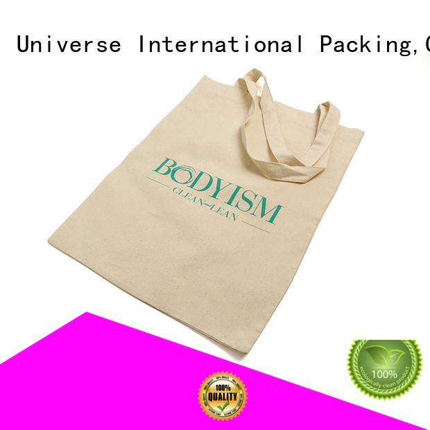 Soft Cotton Shopping Tote Shoe Bag With Printing Logo
