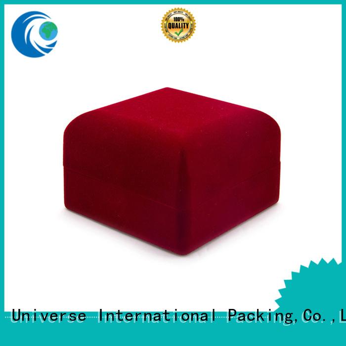 Yonghuajie odm crushed velvet box velvet ring box high-quality for gift