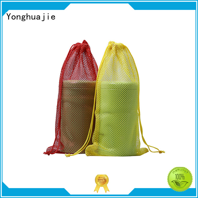 bag nylon toiletry Yonghuajie Brand mesh shopping bags manufacture