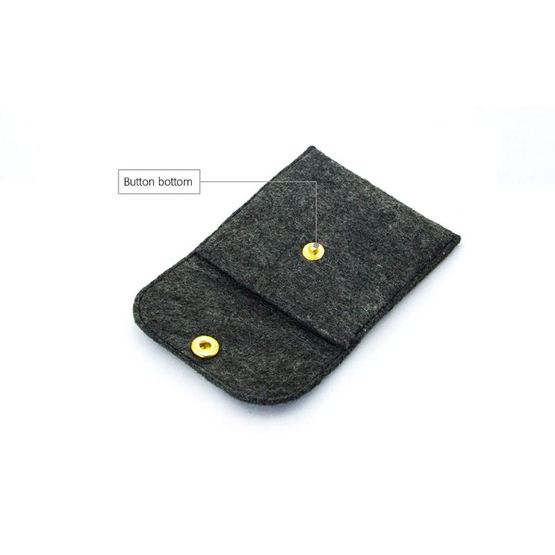 Yonghuajie felt pouch felt storage bag felt shopping bag felt jewelry bag embroidered for gift packing-5