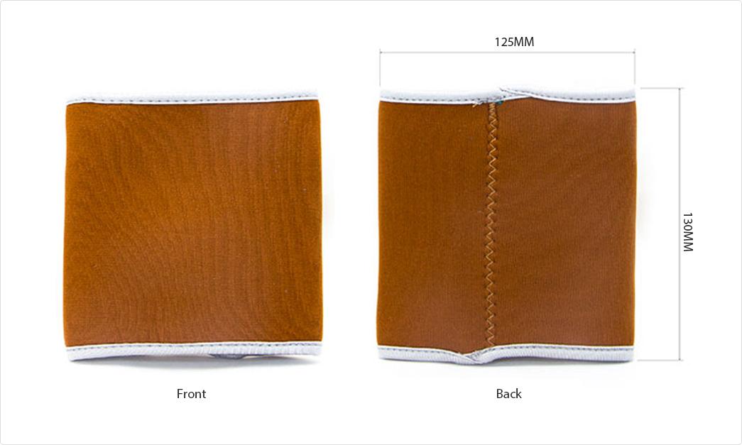 cosmetics blank neoprene handbag