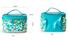 Quality Yonghuajie Brand zipper leather makeup bag