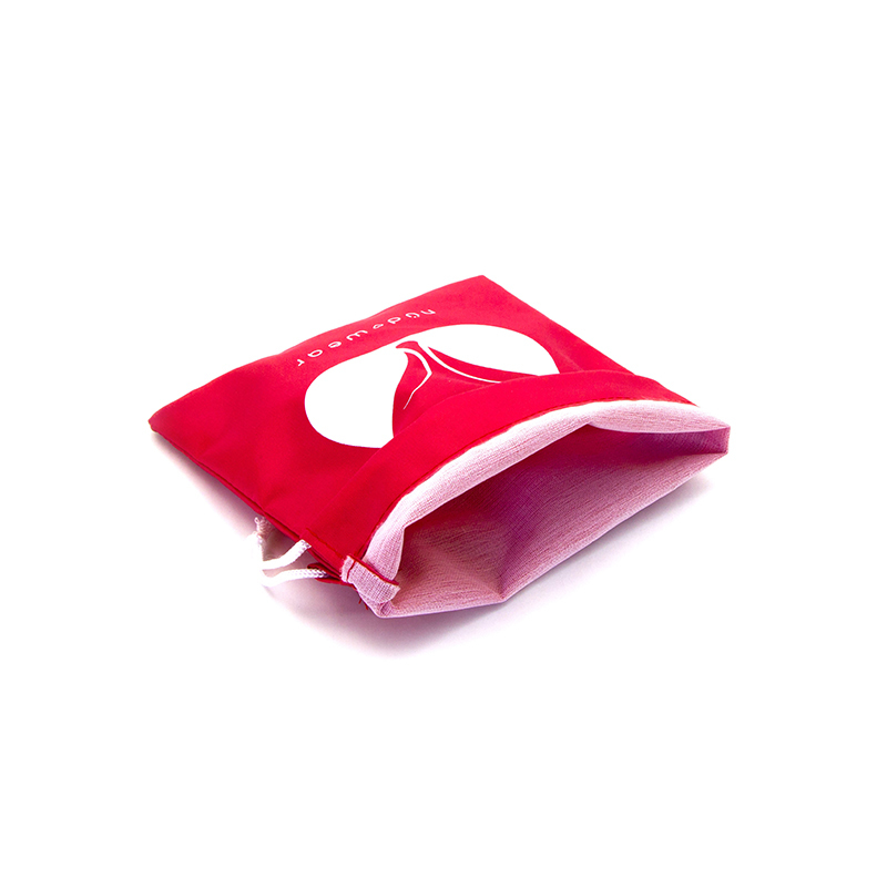silk travel nylon mesh bag drawstring plain Yonghuajie Brand