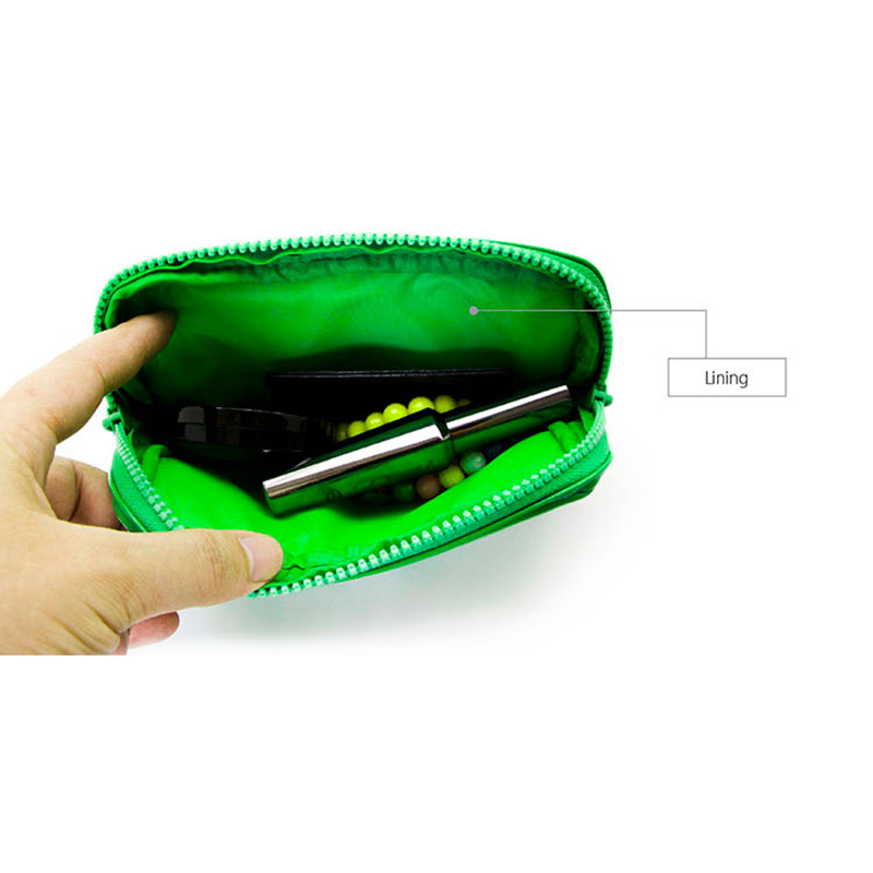 leather cosmetic pouch pu pouch soft Yonghuajie Brand