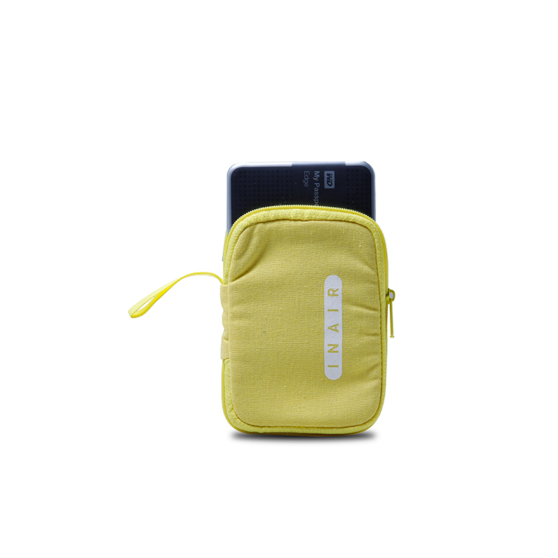 Custom Cotton Drawstring Bags With Handle For Power Bank Packing