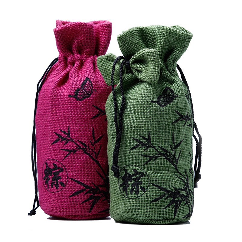Yonghuajie jute grocery bags for wholesale for packing-4