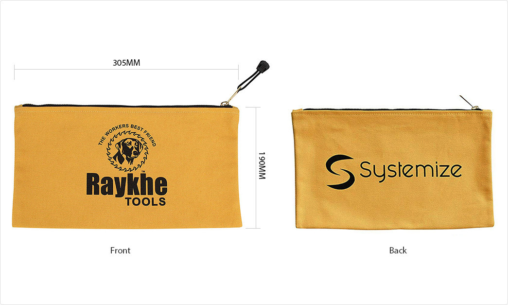 Hot tote personalized canvas tote bags packaging Yonghuajie Brand