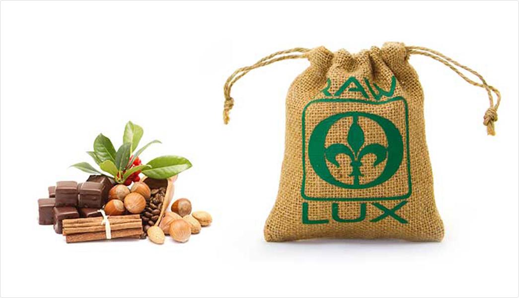 printed jute bags bamboo handle for packing Yonghuajie