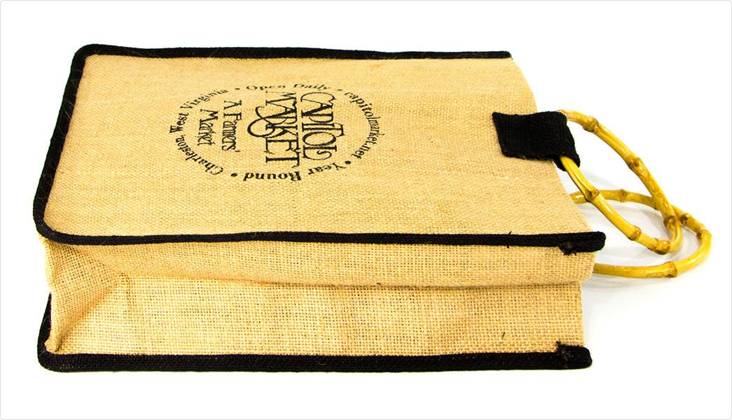 Yonghuajie new arrival jute sack jute shopping bag free sample for wine-4