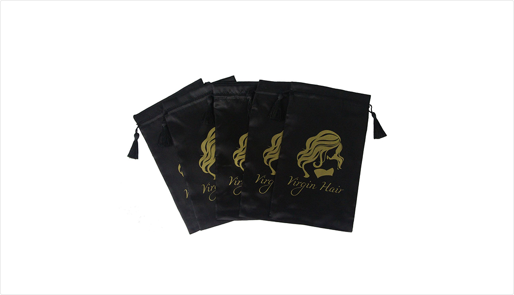 soft satin bags high-end with handle for shoes-4