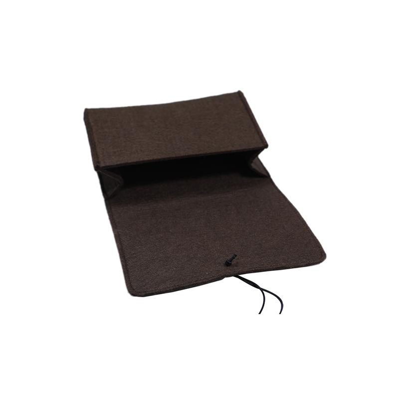 Custom Felt Tote Bag For Mobile Phone Or Power Bank Packing