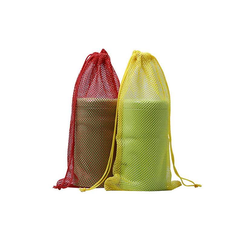 Custom colors mesh drawstring bag