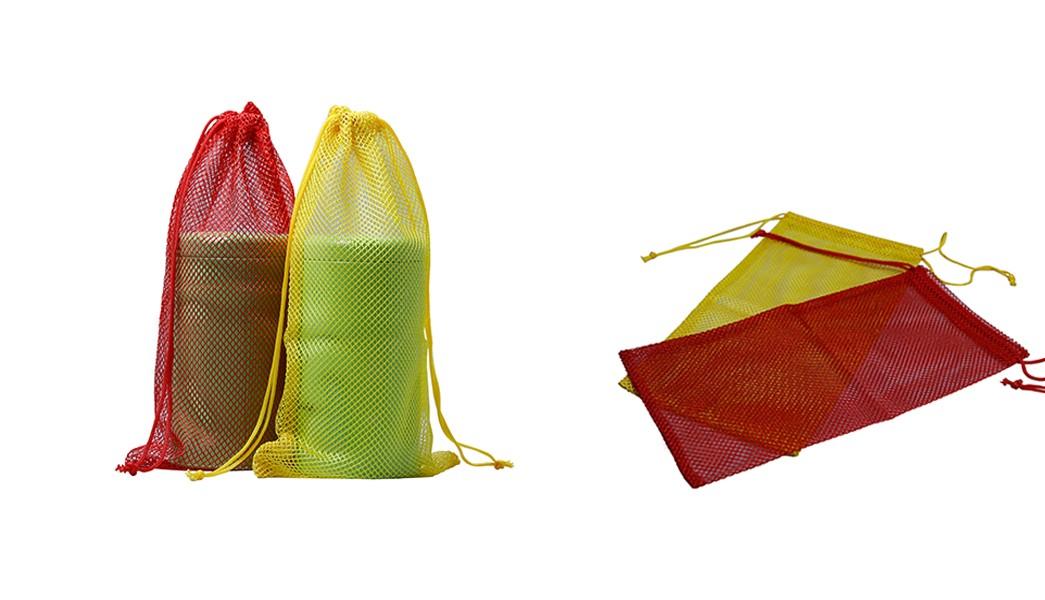 Custom colors mesh drawstring bag-4