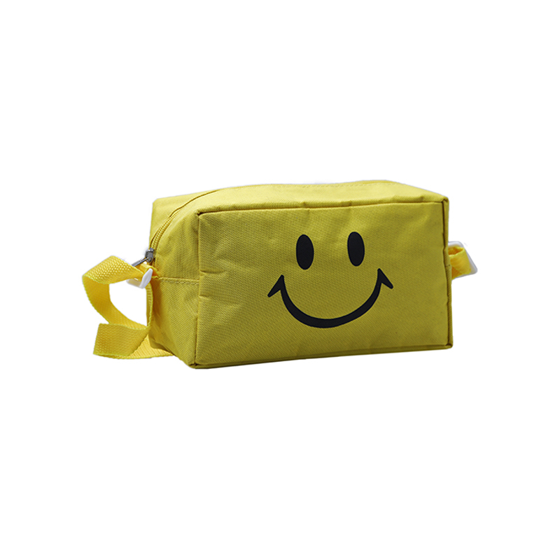 Custom Yellow Zipper Polyester Tote Bags With Tote