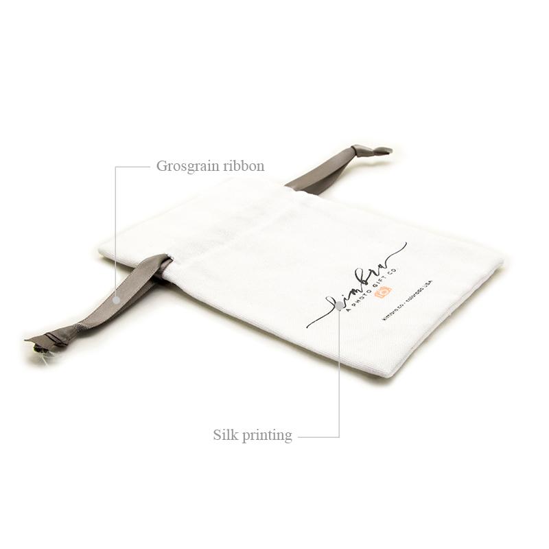 grosgrain linen laundry bag linen gift bags coating for students Yonghuajie
