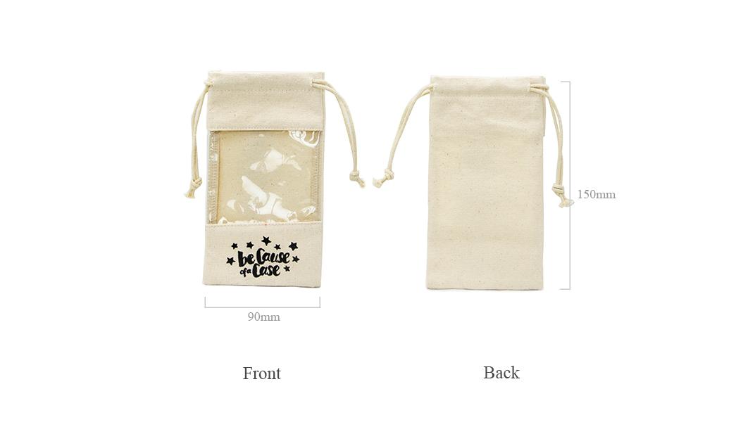 Wholesale cosmetic design canvas tote bags wholesale Yonghuajie Brand