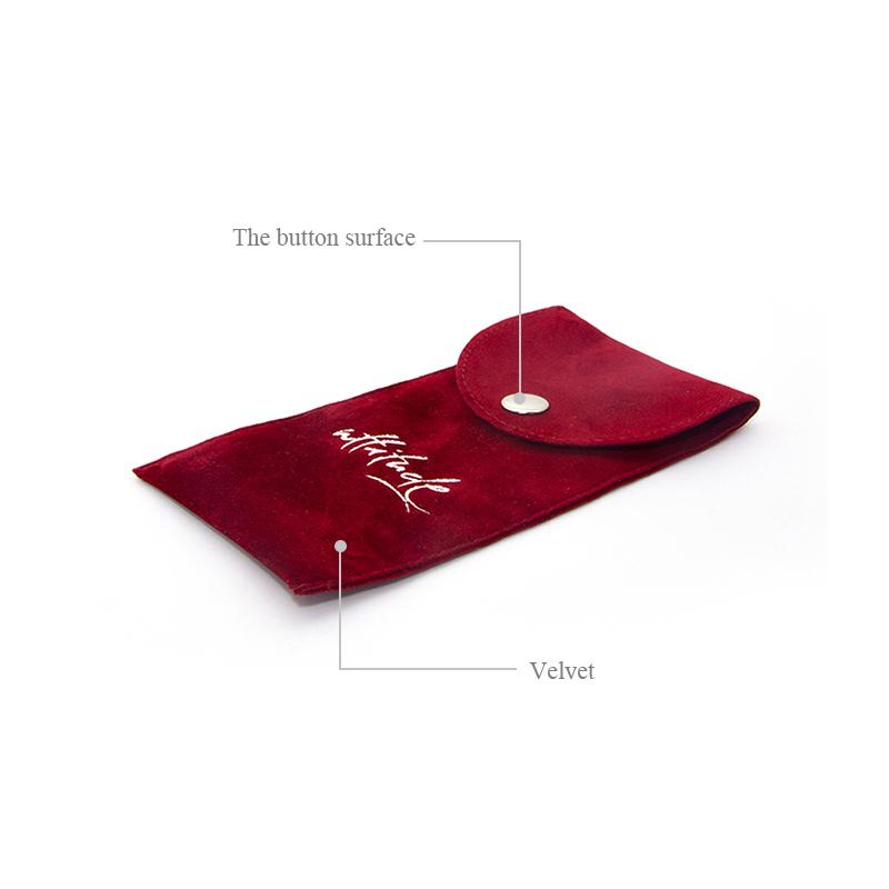 Velvet Watch Bag With Stamping Logo